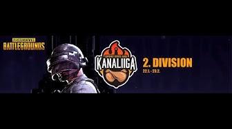 Kanaliiga Squad Season 3 2.Div Päivä 1