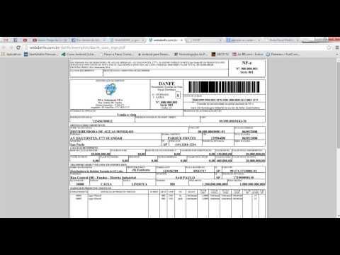 Aula 1 - Curso De Nota Fiscal Eletrônica - (DANFE) - Parte 1