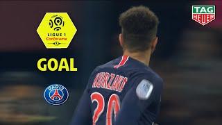 Goal Layvin KURZAWA (13') / Paris Saint-Germain - Montpellier Hérault SC (5-1)(PARIS-MHSC)/2018-19