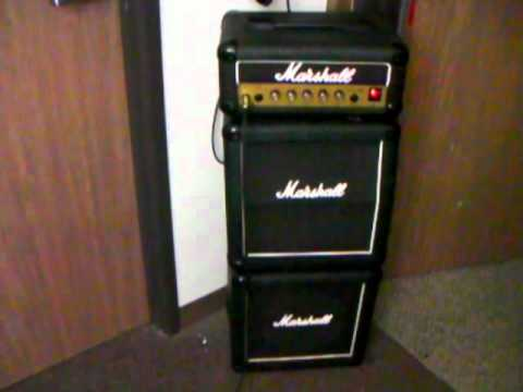 marshall lead 12 micro stack made in england pure 80 39 s vintage british tone mini monster youtube. Black Bedroom Furniture Sets. Home Design Ideas