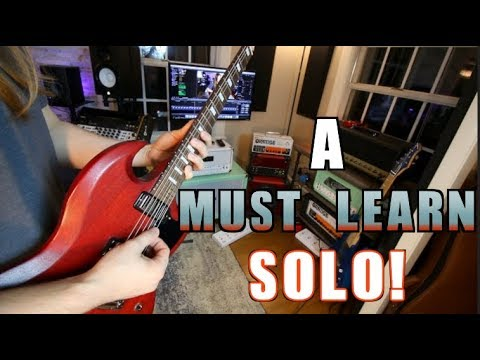 A Must Learn Guitar Solo ... And How To Play It #2
