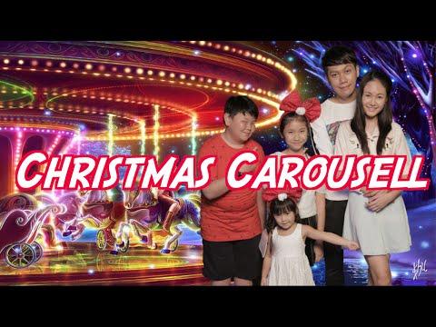 Christmas Carousell   Pea Nut Butter Studios