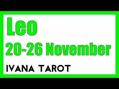 💘 ASK YOUR SOUL Leo Weekly Reading 20 - 26 November 2017 - Ivana Tarot