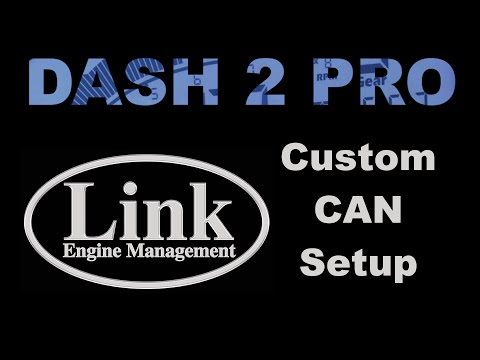 Customising CAN Data: Link G4+ To Race Technology Dash 2 Pro
