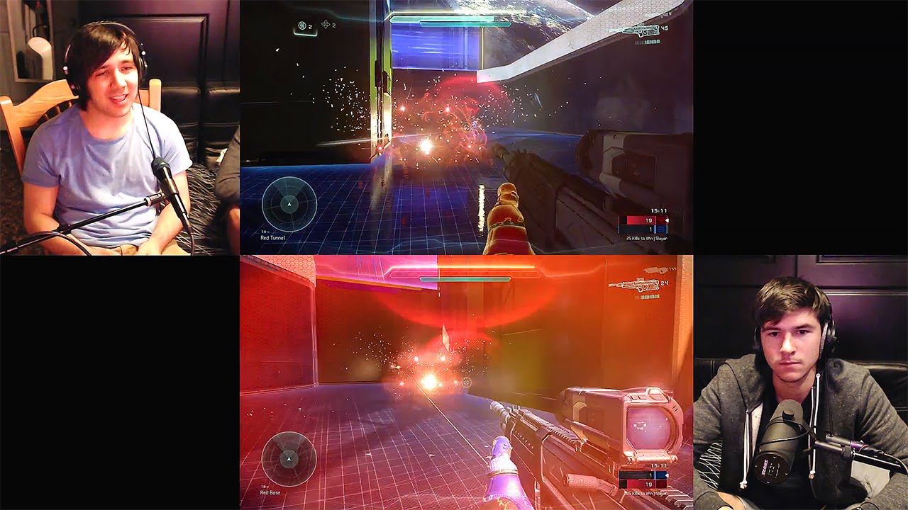 Halo 5: Guardians - Split Screen Multiplayer Custom Game How To!
