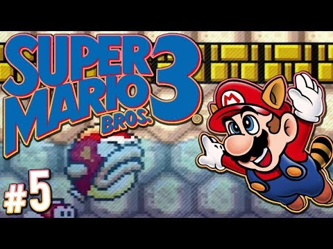 Super Mario Bros. 3 - I'm Terrible At Video Games | PART 5