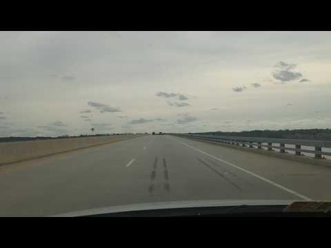 John W. Tisdale Memorial Bridge, Clarksville, Va (Westbound)