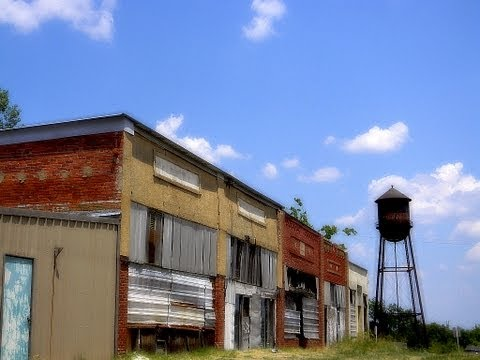 Shamrock, Oklahoma, oil boom ghost town