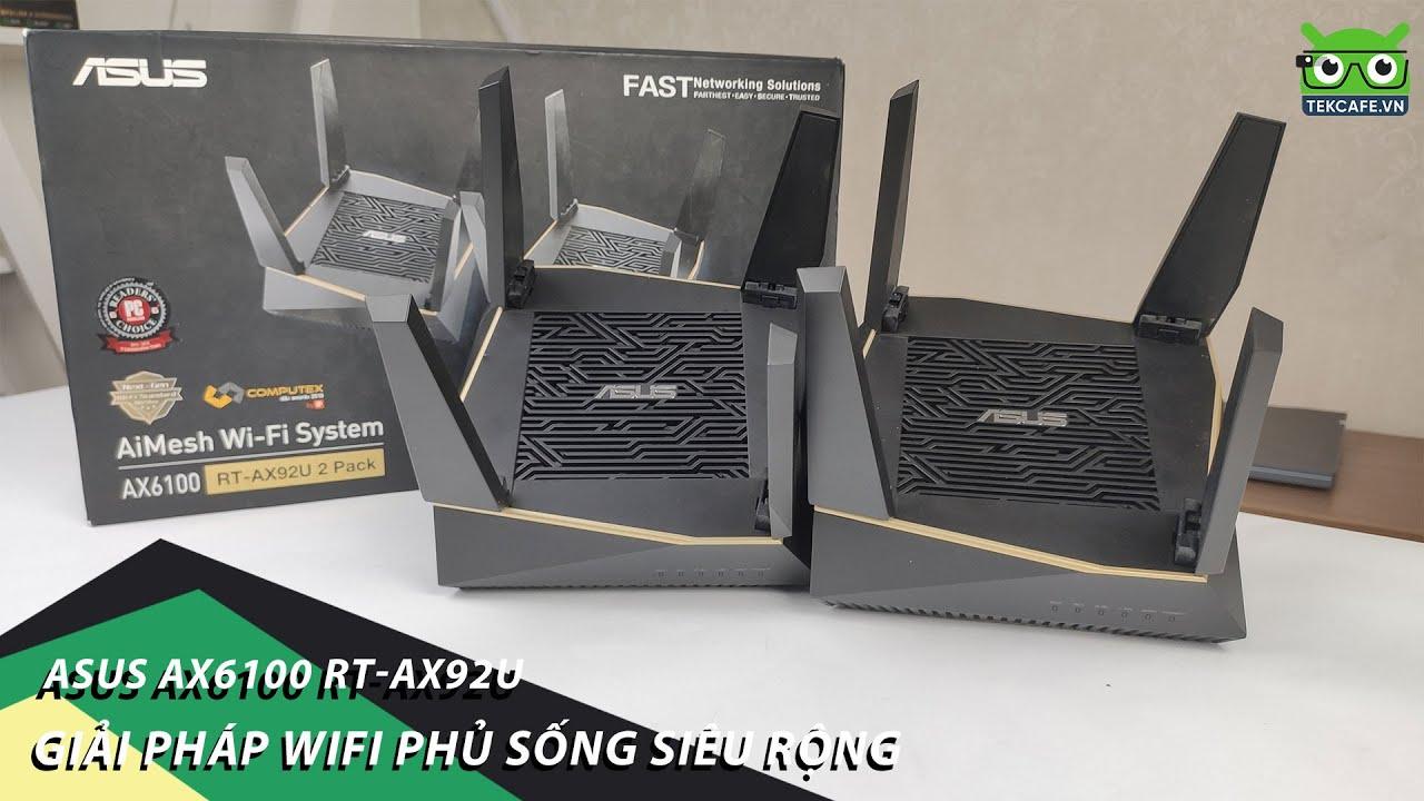 Trên tay Asus Wifi Aimesh AX6100 – Sở hữu CÔNG NGHỆ TƯƠNG LAI
