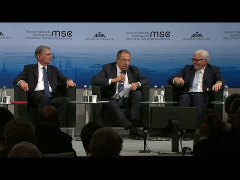 Foreign Ministers' debate with Steinmeier, Lavrov and Hammond