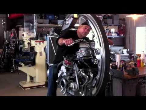 McLean Drag Monocycle (Close Up)