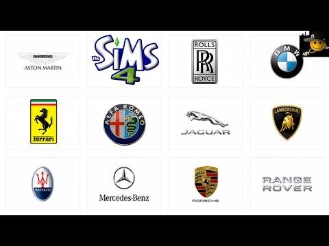 Sims 4 (PC) Billion Dollar Exotic Super Car Collection