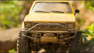 RC Action Trucks 4x4 OFF Road   Toyota HiLux TF2 RC4WD, Jeep Axial Wrangler