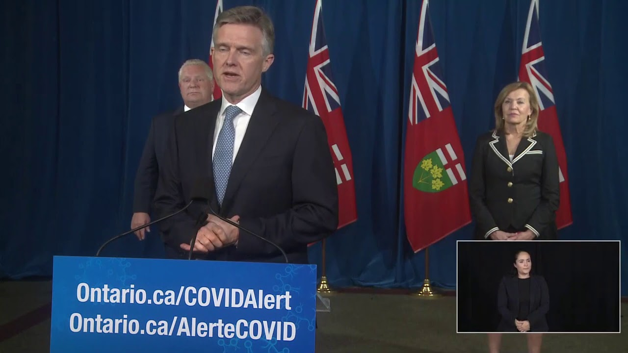 Ontario Premier Doug Ford Provides COVID-19 Update | October 26