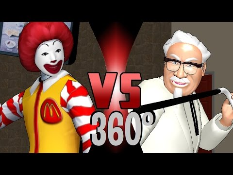Ronald Mcdonald Vs Kfc