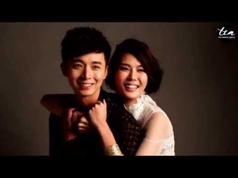 Behind the s of: Carrie Wong and Aloysius Pang's Photo Shoot