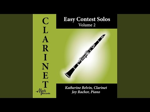 Suite miniature, Op. 145 (Arr. H. Voxman for Clarinet & Piano) : X. Valse dans le soir