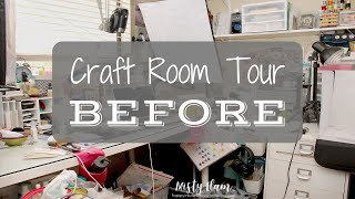 Craft Room Tour BEFORE 2019