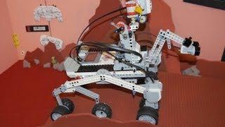 EV3 Mars Curiosity - Science Fair Mash Up