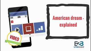 American dream - explained