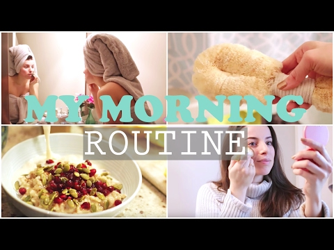WINTER MORNING ROUTINE | BOYFRIEND DOES MY VOICEOVER
