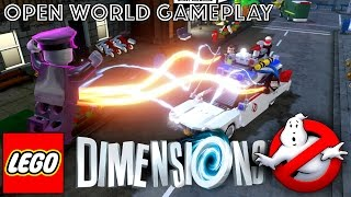 LEGO Dimensions Open World Game-Play (w/ Ghostbuster Level Pack)