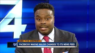 Ask the Expert: Facebook news feed changes