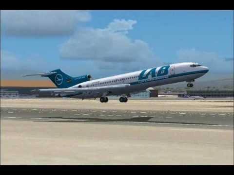 Lloyd Aereo Boliviano full flight  from Lima to La Paz (FS2004)