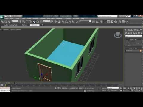 3ds max ev yapımı