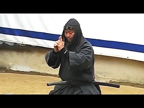 Real Ninjas Show Their Skills