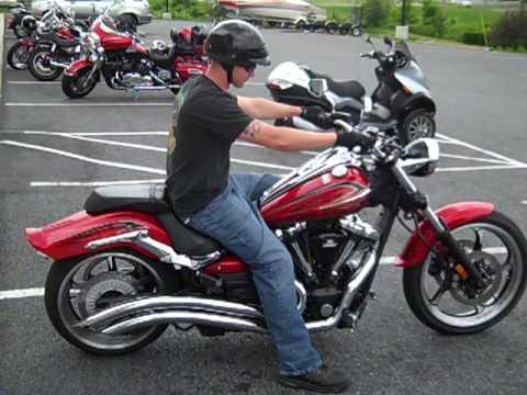 Yamaha Raider For Sale >> Stuart Bowler and his 2010 Yamaha Raider - YouTube