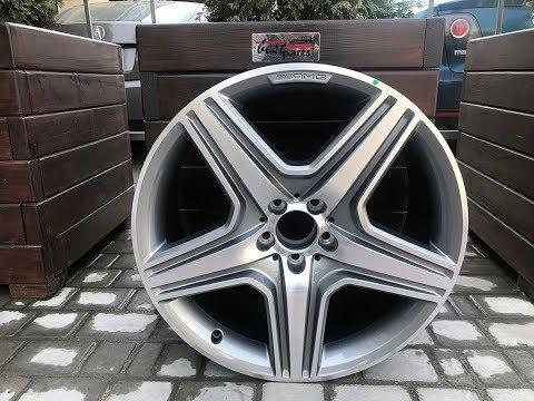 "A16640122027X21 Диск колесный R20 AMG ""Серый титан"" Mercedes ML/GLE W166 / GL/GLS X166"