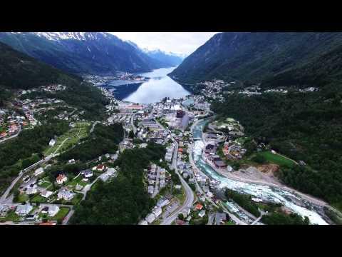 Odda Hardanger - Norway - bird view by Phantom 3