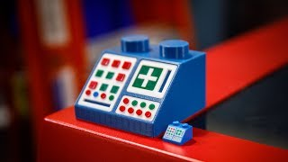Giant LEGO Computer Console Model!