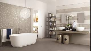 Luxurious tiles and floors are very impressive for bathrooms