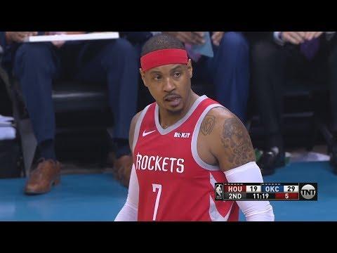 Carmelo 2 Points! Thunder 7 Game Win Streak! 2018-19 NBA Season