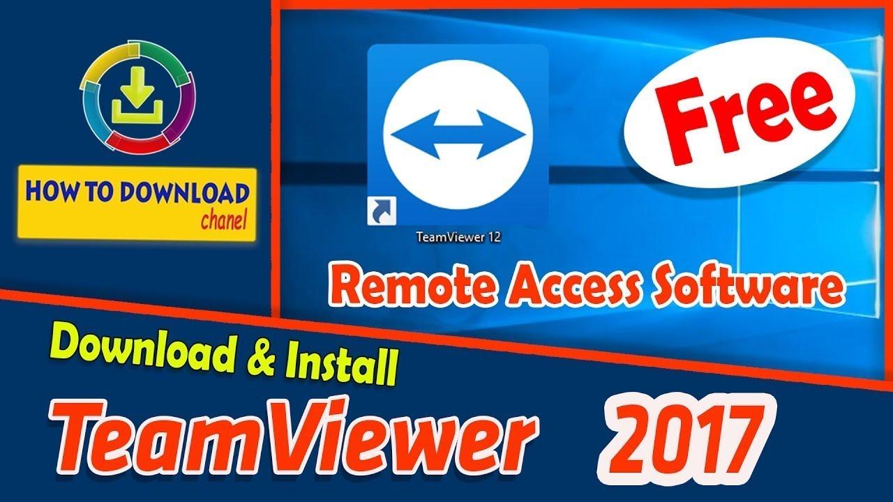 teamviewer 12 full download free
