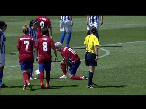 Futbol femenino. Copa de la Reina. At. Madrid - Sporting Huelva