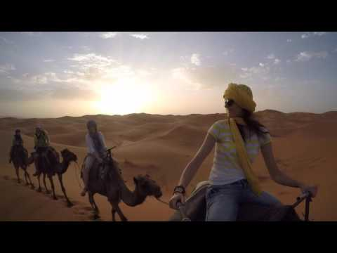 2015 Morocco Merzouga desert Camel caravan [GoPro Hero4]
