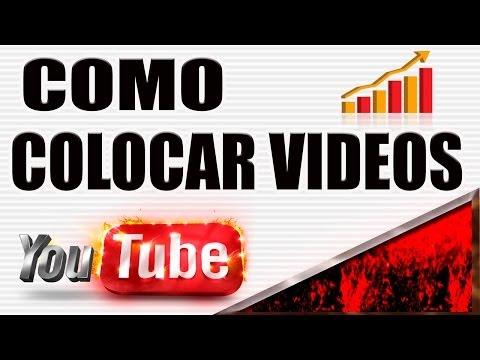 Como colocar vídeos no Youtube 2014 ( iniciantes ) Vídeos De Viagens