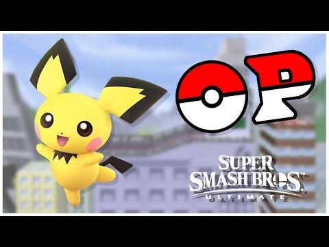 THE FINEST MOUSE | A Super Smash Bros. Ultimate PICHU Montage thumbnail