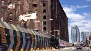 Old Domino Sugar Building In Williamsburg Brooklyn New York