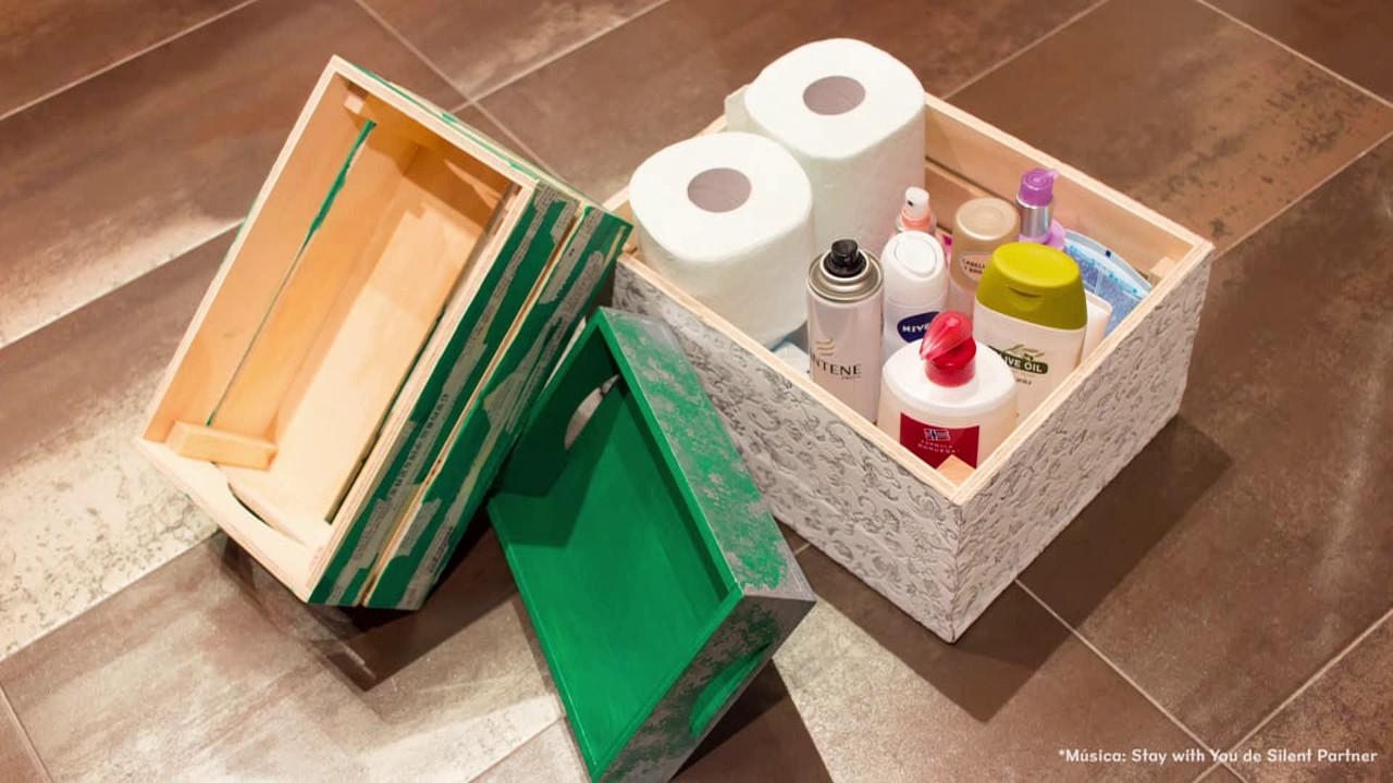 C mo decorar cajas de madera con decoupage papel pintado - Como decorar cajas de madera de fruta ...