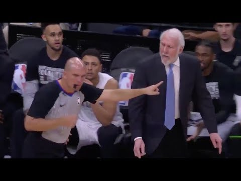 Gregg Popovich Gets Heated At Refs And Is Ejected Against Pelicans! Spurs vs Pelicans!