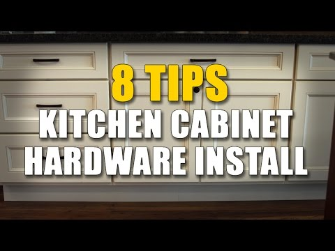 Cabinet Knobs And Pulls - 8 IMPORTANT Installing Tips