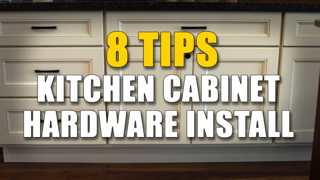 Cabinet knobs and pulls 8 important installing tips for Adding hardware to kitchen cabinets