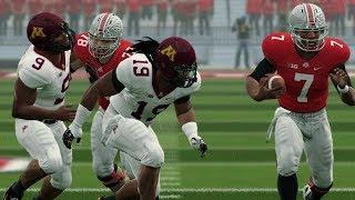 College Football 10/13 Ohio State vs Minnesota 2018 NCAA College Football | NCAA 14 Updated Rosters