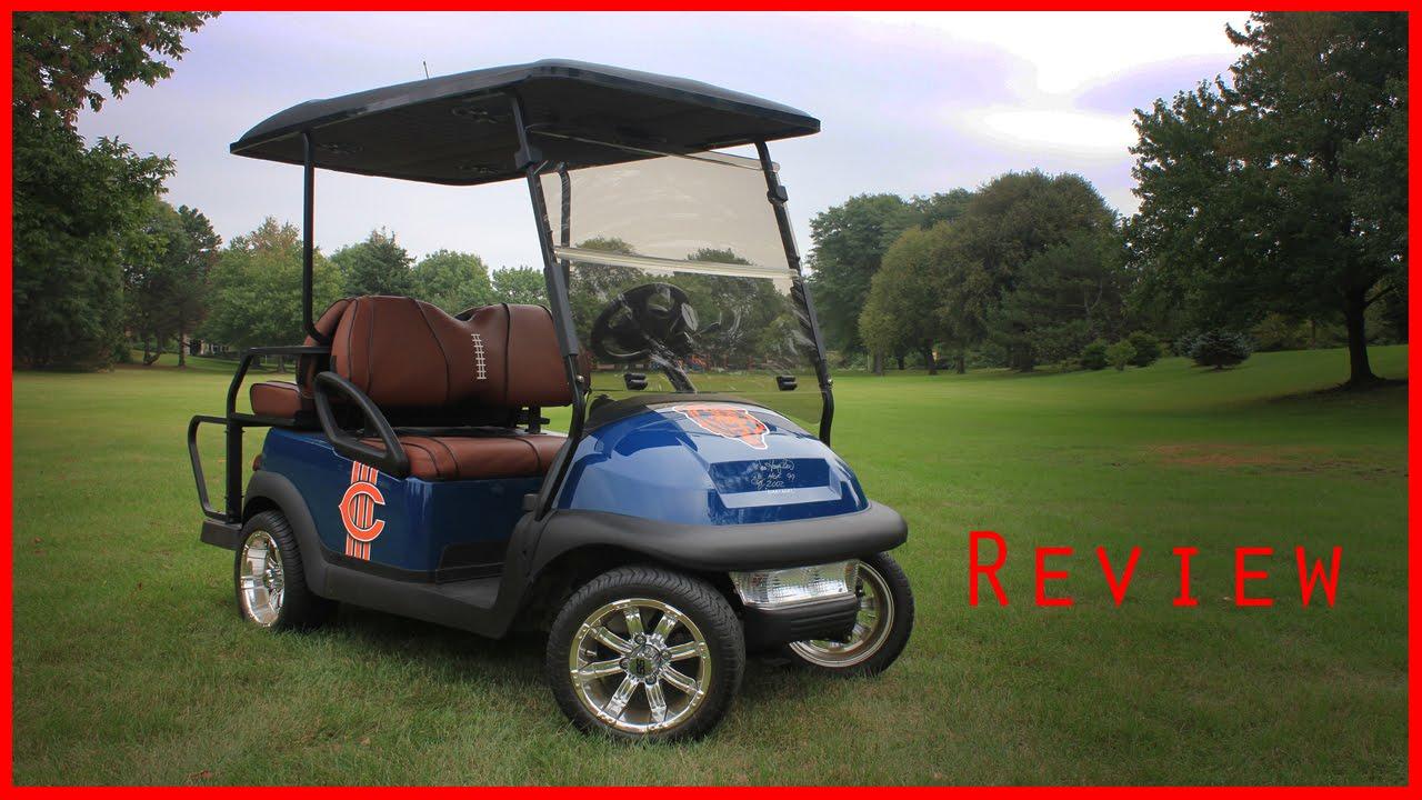Clubman Precedent Custom Chicago Bears Edition Golf Cart