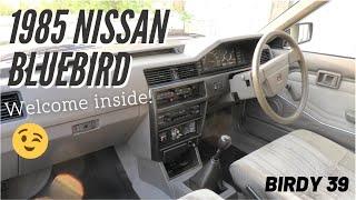 Nissan Bluebird 1985.  The Interior