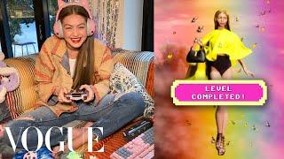 Gigi Hadid's Fantasy Fashion Video Game | Vogue
